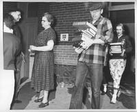 Ruth Reynolds on moving day 1957.jpg